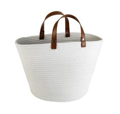 Storage vessels needn't be garish, opt for a subtle style with this set of two fabric storage baskets. Priced at £22