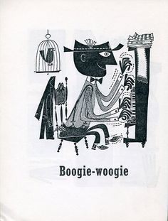 Langston Hughes, The First Book of Jazz, F. Watts, 1955. Illustrated by Cliff Roberts