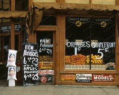 Grocery Store | Signs | Pepsi Cola | 8x10 Reprint Of Old Photo