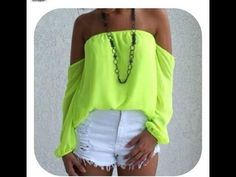 HOW TO MAKE A CUTE TOP FOR SPRING, via YouTube.