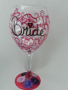 Bachelorette Wine Glass by Bella Vetro by Samantha