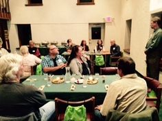 Executive Director Mike Holan addresses dedicated volunteers at the 2014 Volunteer Appreciation Dinner