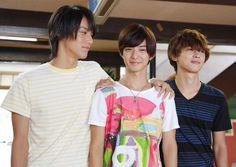"Taishi Nakagawa x Yudai Chiba x Ryo Yoshizawa, J drama, sports comedy, ""Suikyu Yankees (Water Polo Yankees)"", 2014. Plot & Ep.1-10: http://dramanice.com/drama/suikyu-yankees-detail [Eng. Sub]"