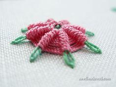 Stitch Play: Raised Spider Daisy – Needle'nThread.com