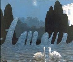 The Art of Conversation - Variation IV - 1950, René Magritte