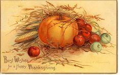 vintage thanksgiving postcards | Vintage Thanksgiving Postcard - Clapsaddle | Flickr - Photo Sharing!