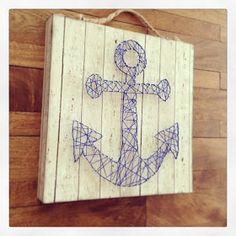 Design, Create, Inspire!: Anchors Away String Art