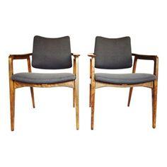 John Stuart Bernadotte France and Sons Chairs - $1,200 Est. Retail - $700 on Chairish.com
