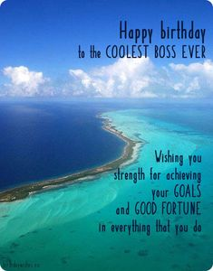 Happy birthday boss quotes, messages and greeting cards. Check out this great collection of professional birthday wishes for boss with images. Happy Birthday Boss Quotes, Happy Birthday Husband Cards, Happy 50th Birthday Wishes, Happy Birthday Boyfriend, Birthday Wishes For Boyfriend, Birthday Wishes Cards, Happy Birthday Funny, Birthday Message For Boss, Brother Birthday
