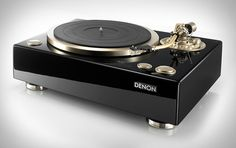 Denon 100 Turntable. I don't own records but I reallllly want this.