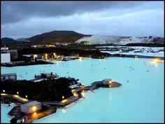 The Blue Lagoon, Iceland - one of nature's healing spas