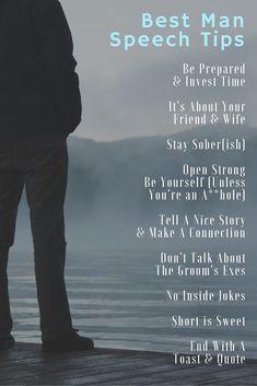 best man toast tips