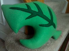 Animal Crossing Inspired Leaf Pillow by MakotoCreations on Etsy, $20.00