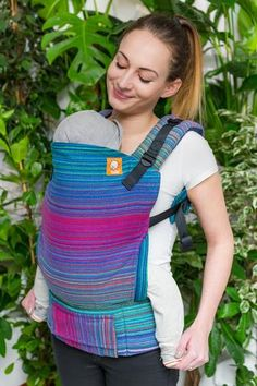 Heartstrings Look to the Heavens Royal Weft TULA BABY CARRIER
