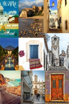 Algarbe Moodboard by The slow pace #travel