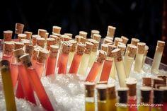 test tube shots, cocktail party ideas, bar ideas, fun cocktail party ideas