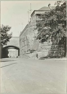 Argyle Cut from Argyle Place,The Rocks,Sydney in 1924.