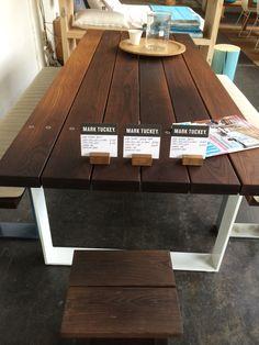 Outdoor table - mark tuckey