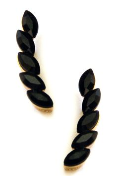 Black Crawler Earrings by Berry Jewelry on @nordstrom_rack