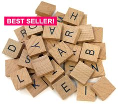 - Our Alphabet Tiles are made of wood and are a x square.- Includes a total of 40 tiles; complete alphabet + mix of common letters Perfect for so many craft ideas, including magnets and pendants Scrabble Tile Crafts, Wooden Scrabble Tiles, Scrabble Letters, Wooden Letters, Letters And Numbers, Scrabble Board, 26 Letters, Wooden Blocks, Alphabet A