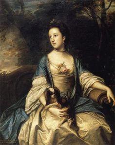 Caroline, Duchess of Marlborough - Joshua Reynolds  1762