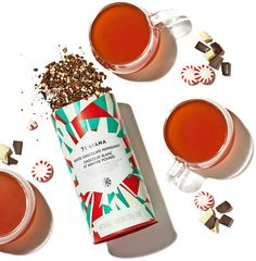 This stuff is amazing! Wait until after Christmas to buy it at 60% off! White Chocolate Peppermint Roobois Tea- Teavana... THIS IS SO GOOD!