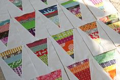 too bad you need to do other sewing so you have scraps to make scrappy quilts :)