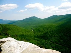 table rock, grafton notch state park, maine