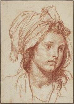 Life Drawing, Drawing Sketches, Drawings, Portraits Pastel, Renaissance Artists, Face Sketch, Jean Baptiste, Art Studies, Magazine Art