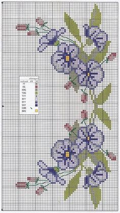 Brilliant Cross Stitch Embroidery Tips Ideas. Mesmerizing Cross Stitch Embroidery Tips Ideas. Cross Stitch Pictures, Cross Stitch Love, Cross Stitch Borders, Modern Cross Stitch Patterns, Cross Stitch Flowers, Cross Stitch Charts, Cross Stitch Designs, Cross Stitching, Cross Stitch Embroidery