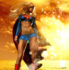 Supergirl by *isikol on deviantART
