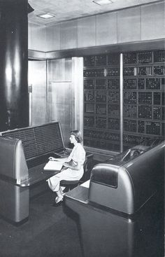 The IBM Selective Sequence Electronic Calculator (SSEC) computer, an electromechanical computer operated from 1948 to 1952.