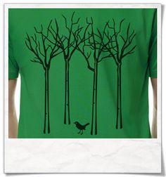 Vogel im Wald / T-Shirt für Männer ( Fair, Öko & Bio )  The bird in the forest / T-Shirt for men ( Fair, Eco & Organic )   print / tshirts / shirts / Shirt / T-Shirt /  tshirtsLove / mode / Fashion   #vogel #wald #bird #forest #fairtrade #fairwear #fairfashion #slowfashion #ethicalfashion #nachhaltig #sustainable #ecofashion #fashionblogger #slowfashionblogger #beautyblogger #bblogger #greenbblogger #greenliving #grünemode #bio #organic