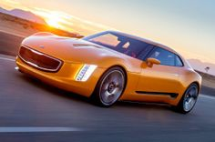 First Look: Kia GT4 Stinger Concept Made by Gearheads, for Gearheads