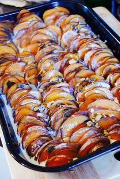 Ottolenghi's Sweet Potato Gratin