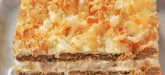 Maklike nagereg met 3 bestandele Yskaskoek Bestandele: 3 Pakkies Instant pudding (aangemaak soos aangedui op pakkie) 1 na 2 pakkies . South African Dishes, South African Recipes, Baking Recipes, Cake Recipes, Dessert Recipes, Desserts, Cream Crackers, Fridge Cake, Tea Time Snacks