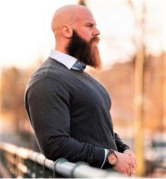 We make and deliver everything you need to maintain and grow a beard. From beard oil, balm, combs to beard growth products, grooming kits and gift sets. Bald Men With Beards, Bald With Beard, Great Beards, Long Beards, Awesome Beards, Big Beard, Beard Styles For Men, Hair And Beard Styles, Bald Beard Styles