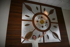 """""""Mandala da natureza"""" Hotel Recanto das Águas"""