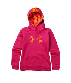Under armour kids girls af storm big logo hoodie big kids 3f5de1f68e