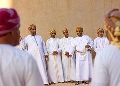 National dress for men in Oman