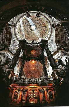 43 Beautiful Photo St Peter's Basilica, Vatican, Rome, Italy Places Around The World, Oh The Places You'll Go, Places To Travel, Places To Visit, Beautiful Architecture, Beautiful Buildings, Beautiful Places, Architecture Details, Visit Rome