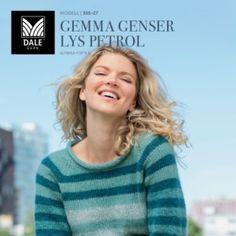 DG355-28 Gemma genser grå – Dale Garn
