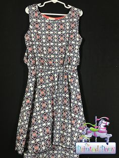 Very cute dress by Lily Bleu, light and airy, multi-colored, size 10, only $9.99