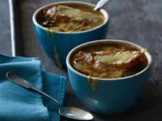 Light French Onion Soup from CookingChannelTV.com Made this for dinner last night and it was fabulous!
