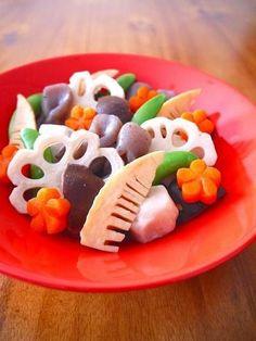 味付けは白だしのみ!上品でやさしい味わいで、色もきれいに仕上がります。おせち料理やお正月のおもてなしに欠かせません。 http://www.recipe-blog.jp/profile/9507/blog/13925162