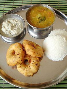 Idli, vaada, sambar... south Indian tiffin