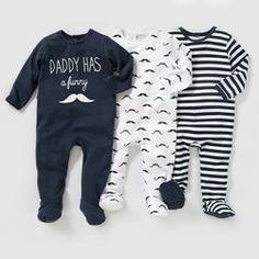 Pyjama coton interlock (lot de 3) 0 mois-3 ans R Edition