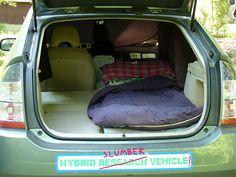 Prius Camping Camper VanCamping IdeasNestsCar