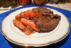 28 NAPOS és 1200 KALÓRIÁS DIÉTA RECEPTJEI - Egyszerűen, gyorsan, jót! Pot Roast, Steak, Beef, Healthy Recipes, Ethnic Recipes, Food, Diets, Carne Asada, Meat