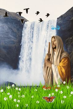 Gif Y Postales Lady Guadalupe, Angel Wallpaper, Jesus Christ Images, Christian Images, Moving Pictures, Jesus Loves, Holy Quotes, Artwork, Animals